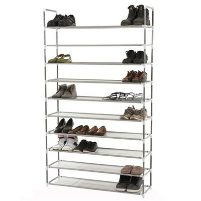 Zapatero para 50 pares de zapatos y 10 niveles