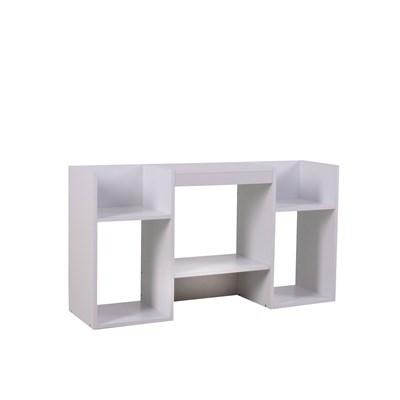 Mueble para TV, Soporte para TV de diseño 109x59x30 cm,  blanca