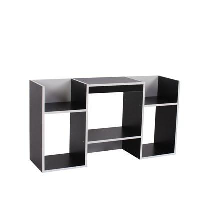 Mueble para TV, Soporte para TV de diseño 109x59x30 cm,  negro