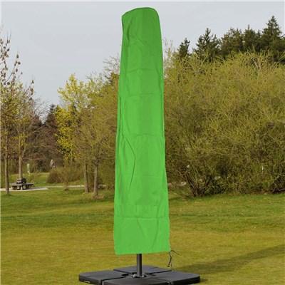 Funda para Sombrilla / Parasol de 3 x 3 metros, Impermeable, con Cremallera, en Verde