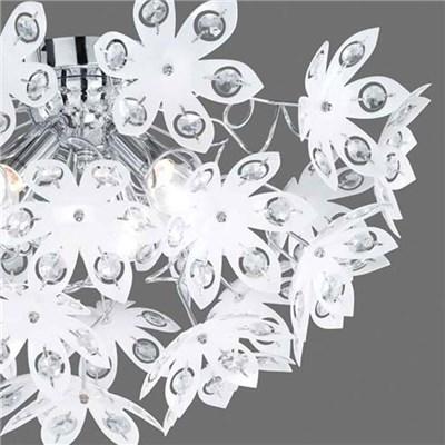 Lámpara de Techo diseño flores, precioso diseño blanco, tonos claros
