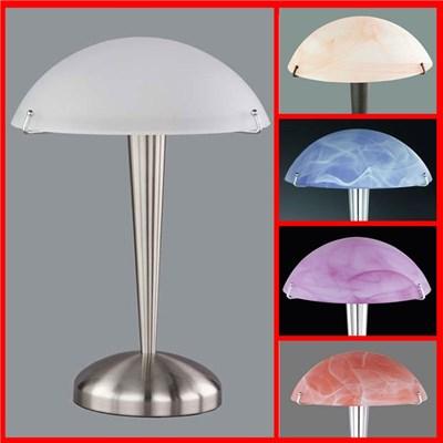 Lámpara de Mesa o Tocador, dimensiones 35cm, color blanco