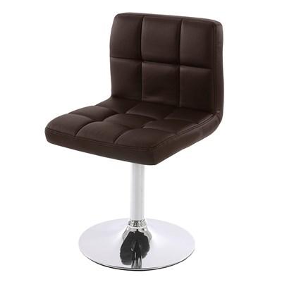 Conjunto de 2 sillas de Comedor GENOVA, Giratorias, Muy cómodas, Color Marrón