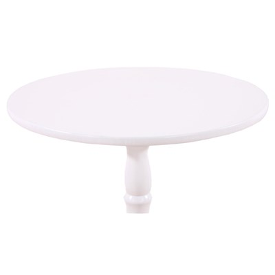 Mesa auxiliar o mesa para la entrada VELTA, madera Blanca