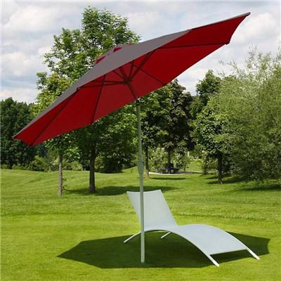 Sombrilla 3 metros MAYA, Resistente a sol y agua, Gran diseño, Color Roja