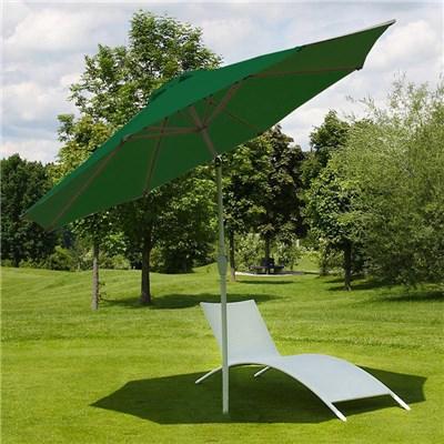 Sombrilla 3 metros MAYA, Resistente a sol y agua, Gran diseño, Color Verde