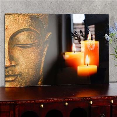 Cuadro de Cristal BUDHA, Gran Nitidez y Contraste, 40x60cm