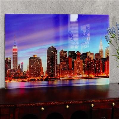 Cuadro de Cristal NEW YORK, Gran Nitidez y Contraste, 40x60cm