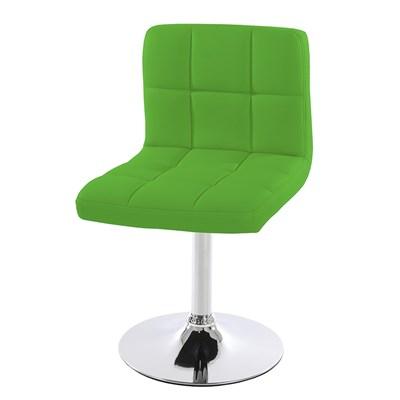 Conjunto de 4 sillas de Cocina GENOVA, Giratorias, Muy cómodas, Color Verdes