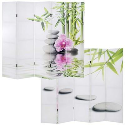 Biombo Decorativo ASIC, Precioso Diseño, En madera Maciza, 180x200cm