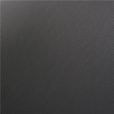 Silla de Comedor COMO, estructura metálica, en piel color gris