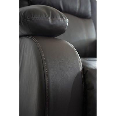 Sillon Relax Reclinable LINCON, Color Marrón, Gran acolchado y comodidad