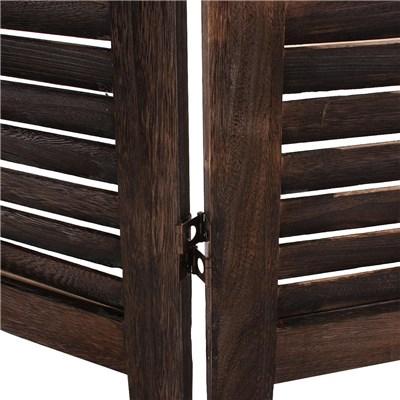 Biombo plegable dimensiones 170x182cm, 5cm de grosor, estilo clasico , vintage marrón