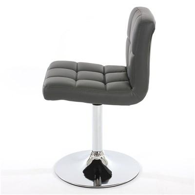 Conjunto 4 sillas de Cocina / Comedor GENOVA, Giratorias, Muy cómodas, Color Gris