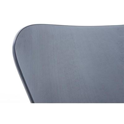 Lote 2 Sillas de Cocina o Comedor LERMA, en madera y metal, apilables, en gris