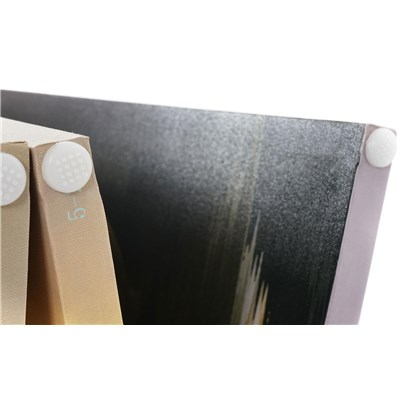 Biombo 5 paneles BUDA, Estructura de Madera, 180x200x2,5cm