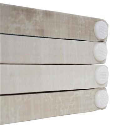 Biombo 4 paneles CALMA, Estructura de Madera, 180x160x2,5cm