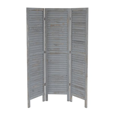 DEMO# Biombo plegable dimensiones 170x138cm , 5cm de grosor, estilo clasico , color gris