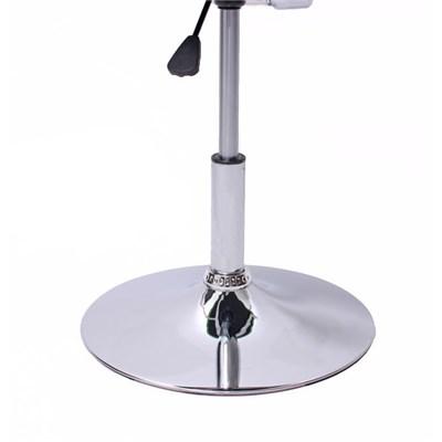 Lote 6 Sillas de Comedor COMO, estructura metálica, polipiel, color crema