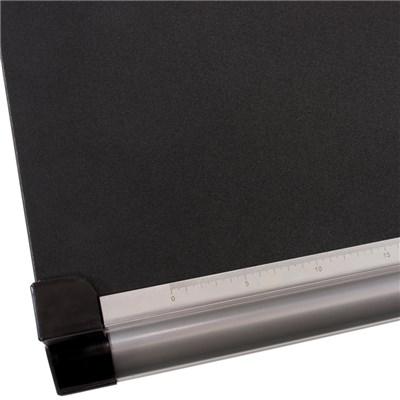 Mesa de Dibujo o Escritorio Juvenil OXFORD, basculante, ajustable en altura, color negro