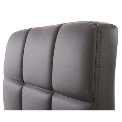 Conjunto de 2 sillas de Cocina GENOVA, Giratorias, Muy cómodas, Color Gris