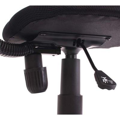 DEMO# Silla de Oficina Juvenil N30, respaldo en malla, color negro