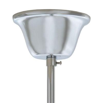 Lámpara de Araña ATENEA, 5 Puntos de Luz, Vidrio Acrílico Transparente, Bombillas LED Incluidas
