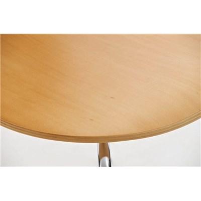 Lote 2 Sillas de Cocina o Comedor CARLO, ergonómicas, en madera y metal, modelo apilable, en Marrón haya