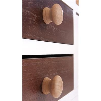 Cómoda Aparador de diseño con 16 cajones 76x76x40cm