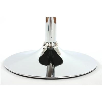 Conjunto de 2 sillas de Cocina GENOVA, Giratorias, Muy cómodas, Color Negro