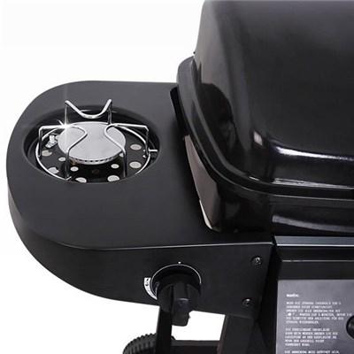 Barbacoa de Gas en Negro , 104cmx94,5cmx51cm, con ruedas