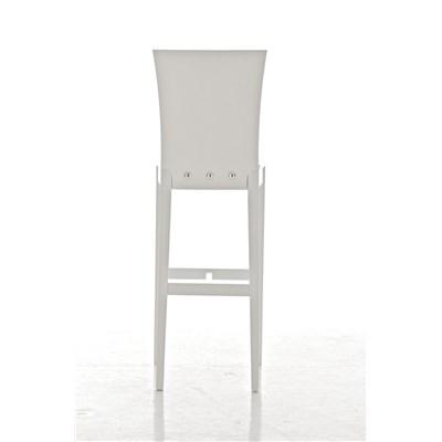 Taburete de madera MATRIX, diseño exclusivo, gran calidad, en madera blanco