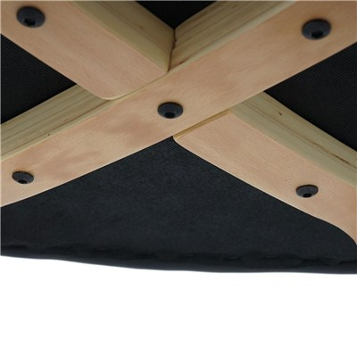 Lote 6 Sillas de Cocina o Comedor DUSTY, En Piel Color Negro y Patas Claras, Increíble Diseño y Gran Calidad