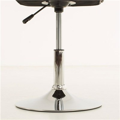 Lote de 4 sillas de Comedor o Cocina PESCARA PIEL, En Morado, Altura Regulable