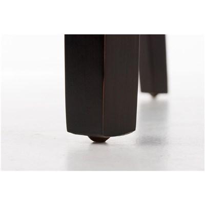 Lote 6 Sillas de Comedor CAPRI, Piel Crema y Patas Oscuras, Muy Cómodas y Resistentes