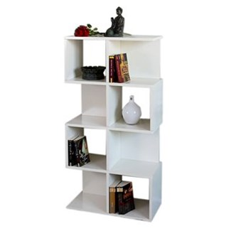 Estantería modular M73, 124x62x28 cm Color Blanco